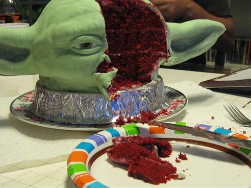Would You Eat Poor Yoda?