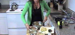 Make Mediterranean maklouba with eggplant and nuts