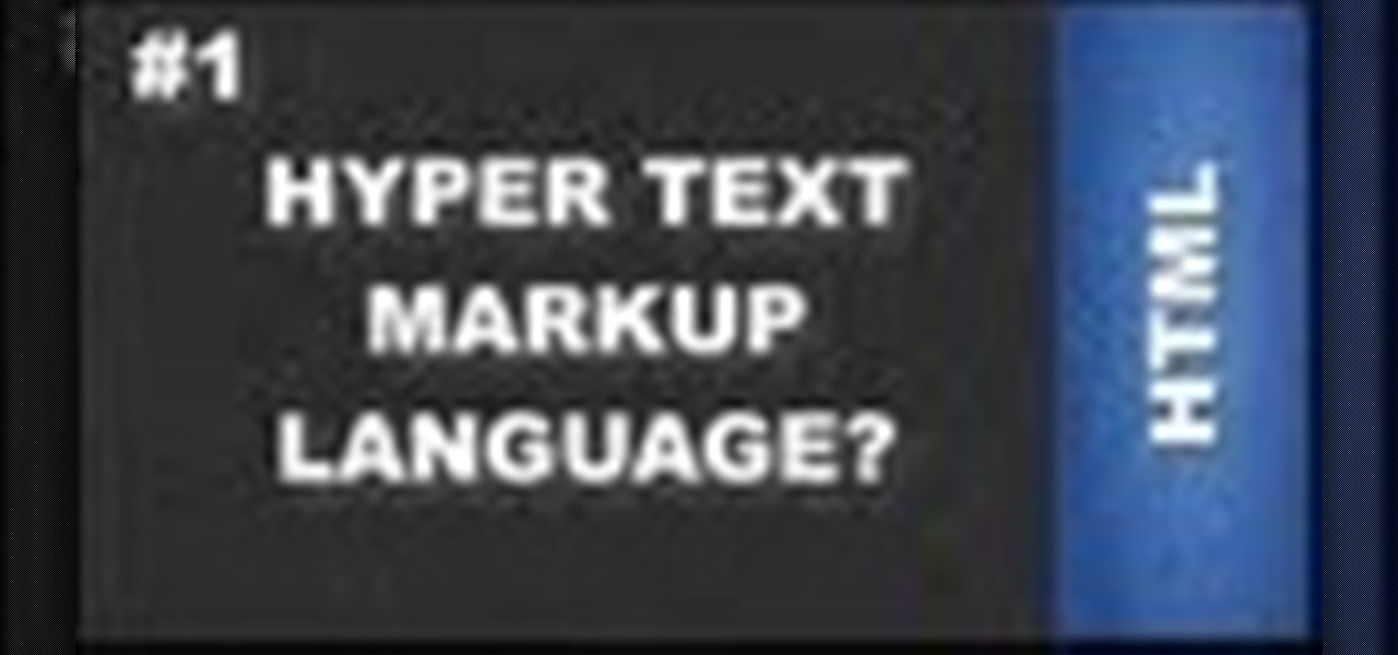 What Is HTML Hyper Text Markup Language?