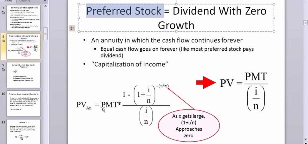 Ipo share price formula