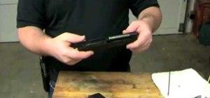 Clean the Springfield Armory XDM 40 handgun