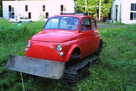 Japanese Built Mini Fiat Cinque Tank-Tractor