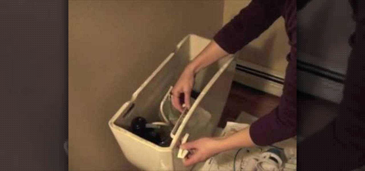 how to install a dual flush toilet kit eco friendly wonderhowto. Black Bedroom Furniture Sets. Home Design Ideas