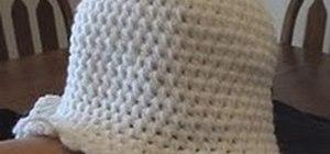 Crochet a cloche hat