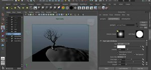 Preview lighting and shadows in Maya 2011