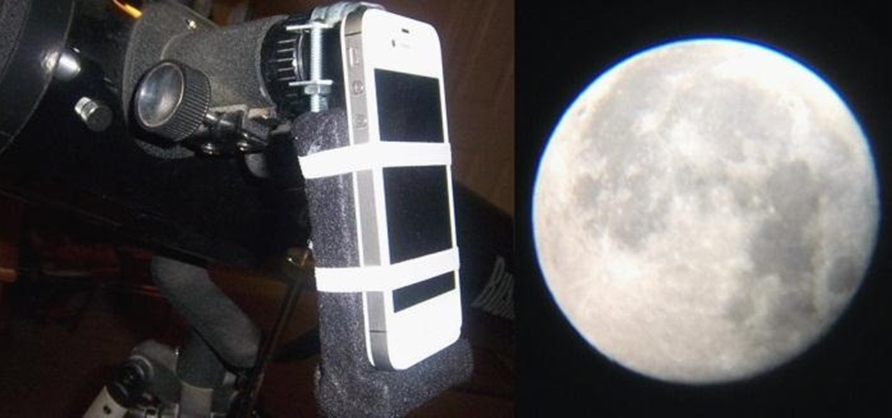 This Cheap DIY Telescope Mount Makes You an Instant iPhone Astrophotographer
