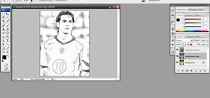 Create a rough sketch effect in Adobe Photoshop