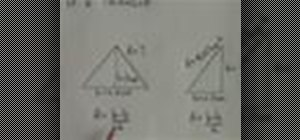 Calculate the area of a triangle using a basic formula