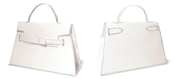 bags that look like birkin - How to Print, Cut & Fold Your Own DIY Herm��s Handbag ? Fashion Design