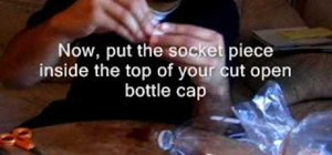 Use a turkey bag & soda bottle for bong to smoke weed