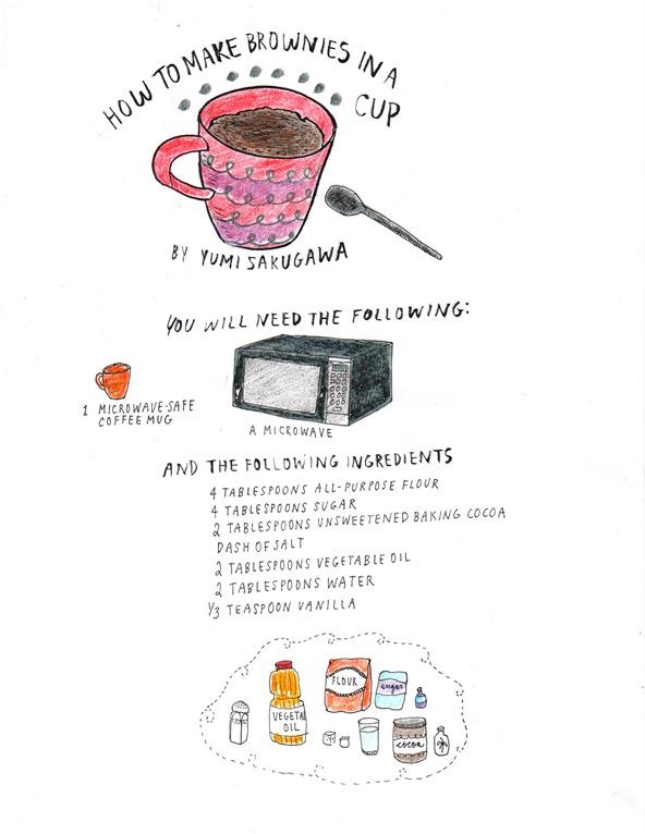 How to Make Brownies in a Mug