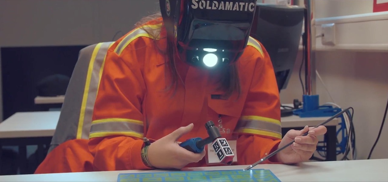 Welding Simulator Uses Augmented Reality to Teach Students Safely - How to