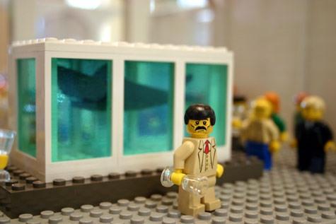 Damien Hurst Shark Tank Lego