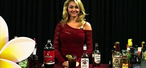Mix an All American cocktail with bourbon, Southern Comfort, Coca-Cola