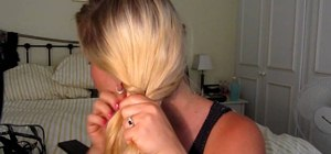Do an easy, breezy fishtail braid/plait for summer