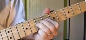 Fingerpick country style on the guitar