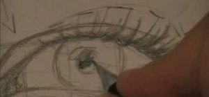 Draw an eye with amazing detail