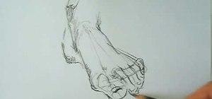 Draw a foot