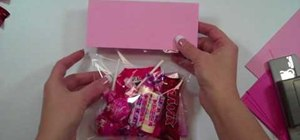 "Craft a Valentine's Day ""Sweethearts"" treat bag"