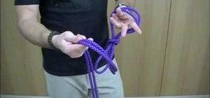 Tie a chain sinnet
