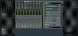 Use channel states in the FL Studio mixer