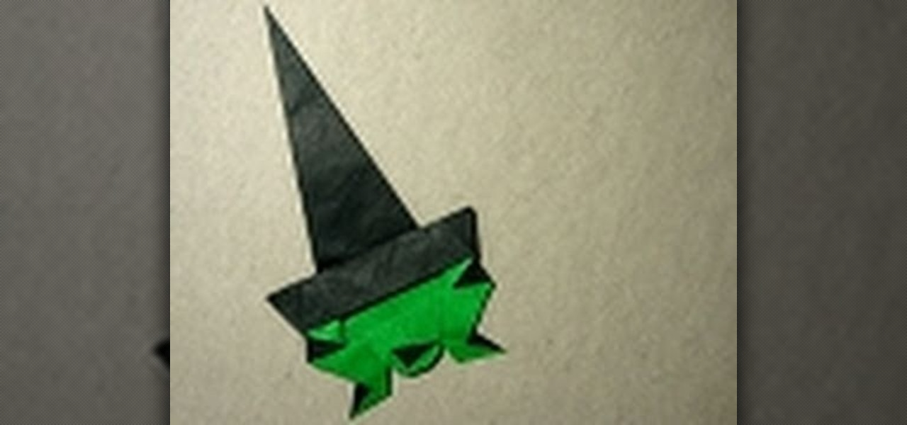 How To Make A Fun And Spooky Origami Witch For Halloween WonderHowTo