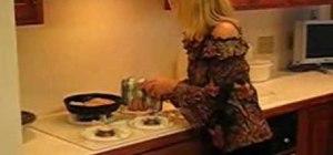 Make Betty's oven-baked pork chops w/ homestyle gravy