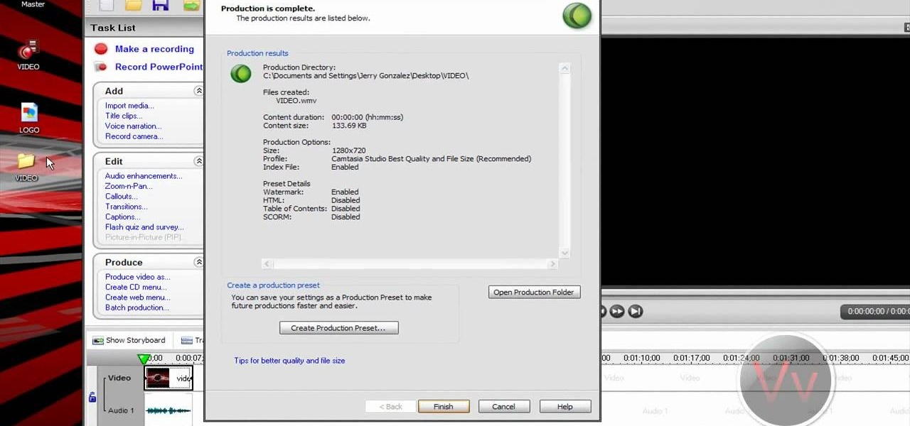 How to add a watermark to your videos using camtasia studio 6 how to add a personal watermark to your own videos in camtasia studio 5 ccuart Image collections
