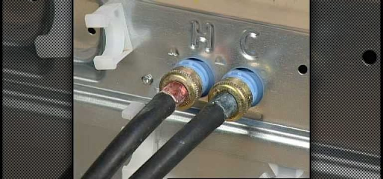 How to Fix leaks from your high efficiency washer « Home Appliances ...