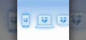 Sync files using the Dropbox utility