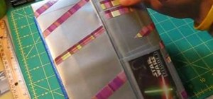 Make an executive tower wallet out of duct tape