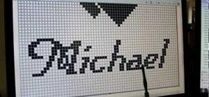 Stitch a complex filet crochet and read graphs