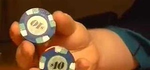 Do the butterfly poker chip trick