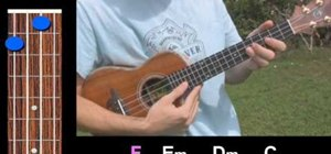 "Play ""Girl, I Wanna Lay You Down"" on the ukulele"