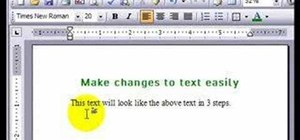 Use the Format Painter tool in Microsoft Word