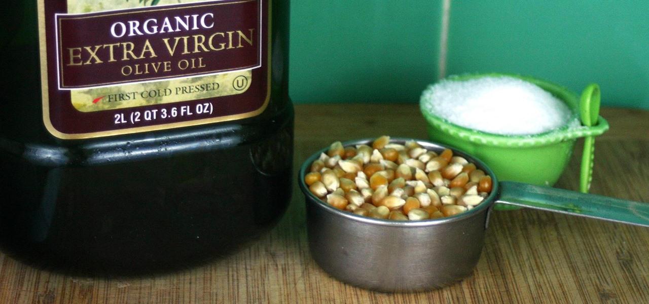 Make Perfect Stovetop Popcorn