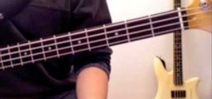 "Play ""Message in a Bottle"" by the Police on the bass"