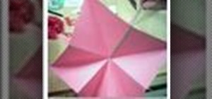 Make a star book out of paper
