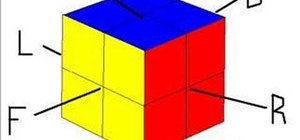 Solve a mini 2x2 Rubik's Cube