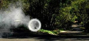 Vortex Cannon Belches Jumbo Smoke Rings