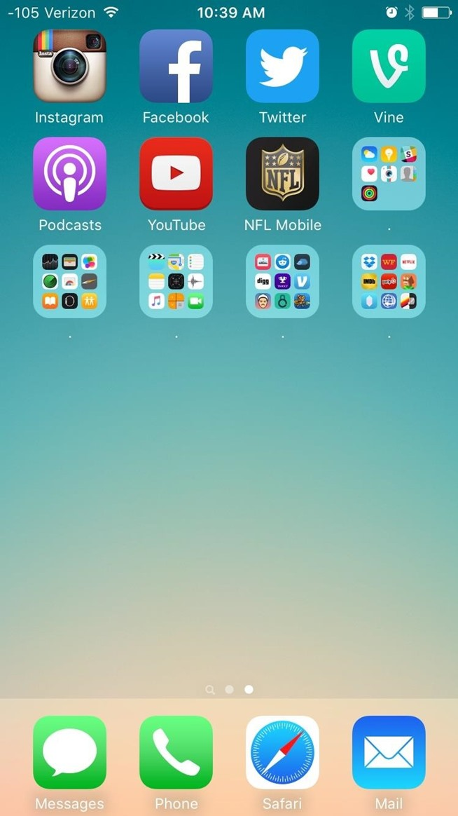 How to Add Folders to Other Folders on Your iOS 9 Home Screen