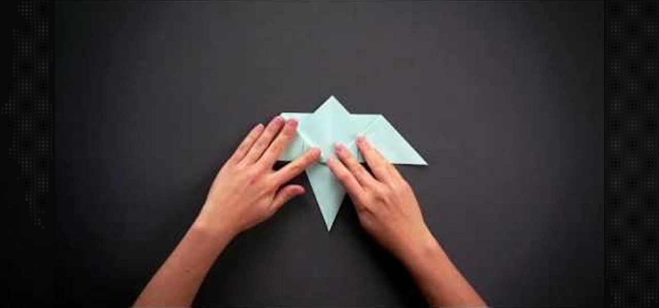 How To Fold A Simple Origami Hummingbird WonderHowTo