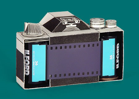 Fold-It-Yourself Pinhole Camera