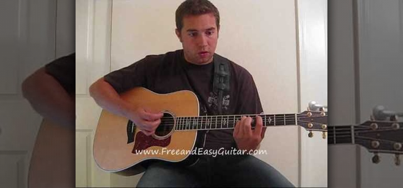 How To Play The Great Escape By Boys Like Girls On Guitar