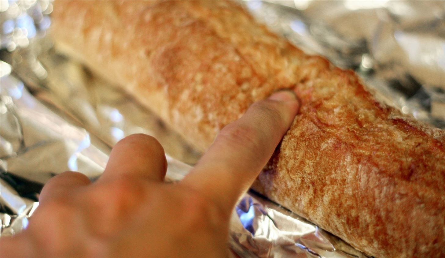 Revive a Stale Baguette Using the Miraculous Water Trick