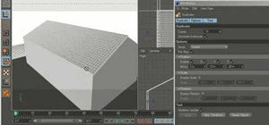 Create 3D roof tiles in MAXON Cinema 4D