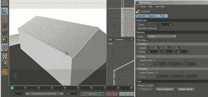 Create 3D roof tiles in MAXON Cinema 4D