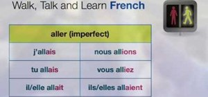 Understand the imperfect tense of verbs in French
