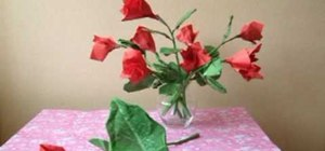 Fold simple and elegant origami roses for beginners