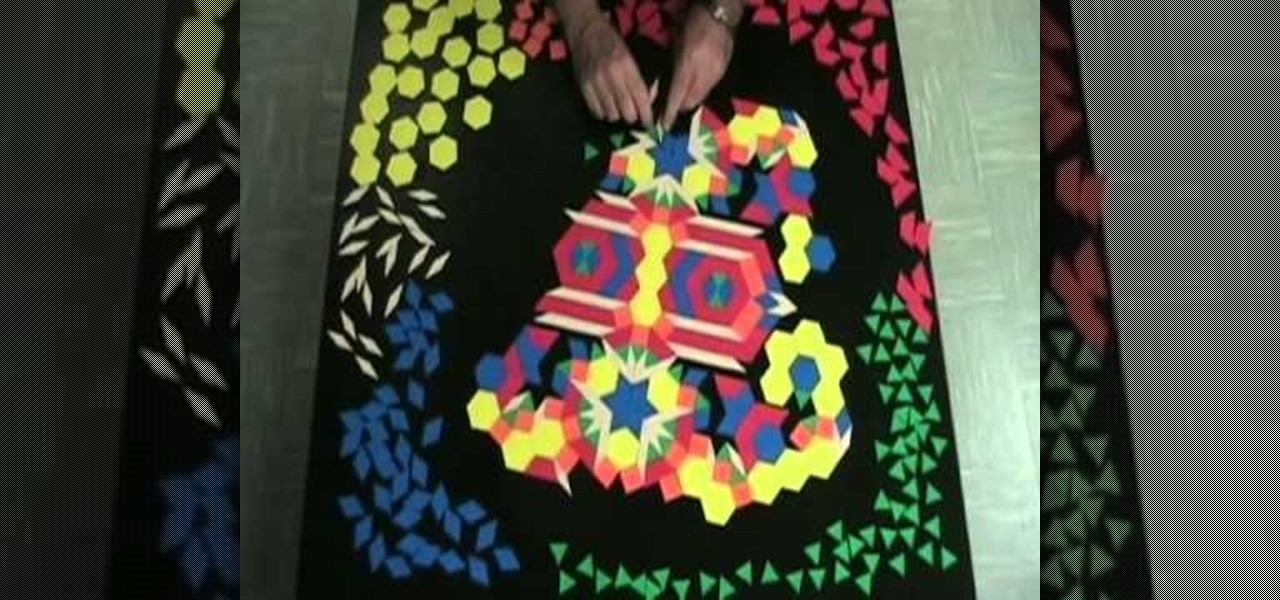 Use Pattern Blocks Art in the Classroom